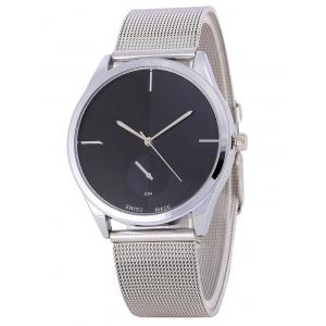 Quartz Watch with Steel Watchband -