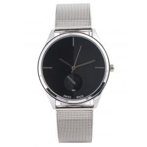 Quartz Watch with Steel Watchband