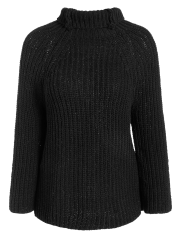 Affordable Turtleneck Knit Jumper Sweater