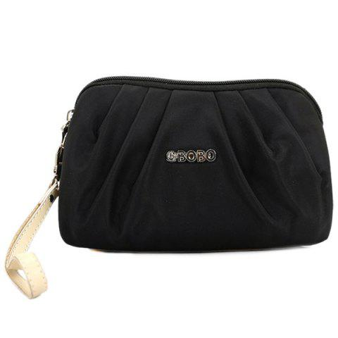 Store Nylon Ruched Wristlet