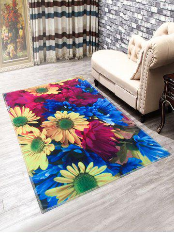 Tournesols anti-dérapant Paillasson Tapis Multicolore