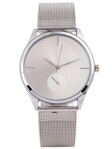 Sale Quartz Watch with Steel Watchband