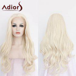 Adiors Long Side Parting Wavy Lace Front Synthetic Wig