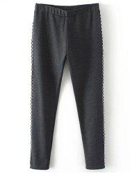 Plus Size Fleece Pencil Pants