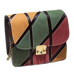Chains Color Block Mini Crossbody Bag