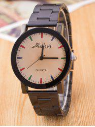 Alloy Analog Wrist Watch