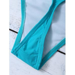 Seamless Hipster Skimpy Bikini Bottoms - LAKE GREEN 2XL