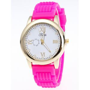 Silicone Roman Numerals Quartz Watch