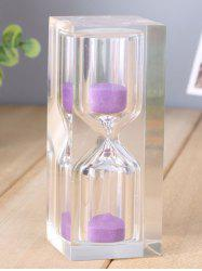 Creative Novelty Craft 10 Minutes Crystal Sand Clock -