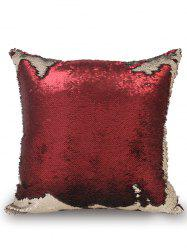 Two Tone Glitter Sequins Home Decorative Pillow Case