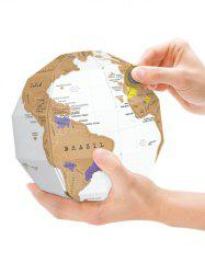 Home Decor DIY Scratch World Map Travel Gift -