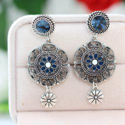 Vintage Floral Drop Earrings
