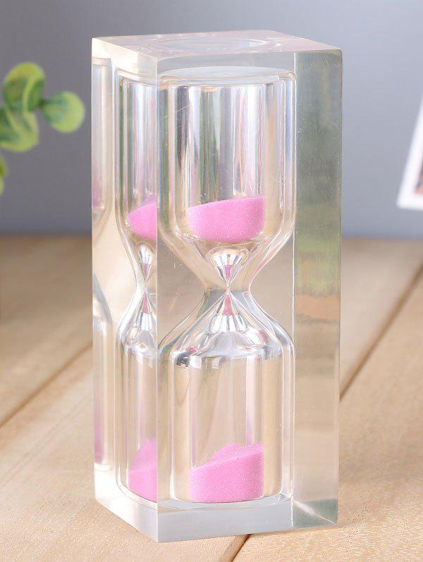 Chic Home Table Decorative 15 Minutes Crystal Sand Clock
