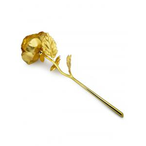 1PCS Gold Plated Rose Flower Birthday Gift -