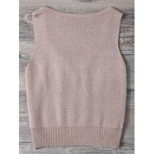 Knitted Tank Top -