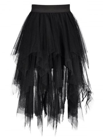 Outfits Midi Tulle Handkerchief Skirt