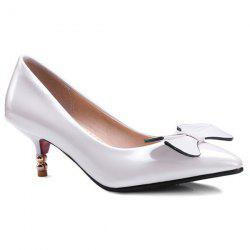 Patent Leather Pointed Toe Pumps