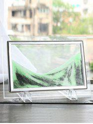 3D Hourglass Sand Moving Scene Frame Picture Ornament Craft -