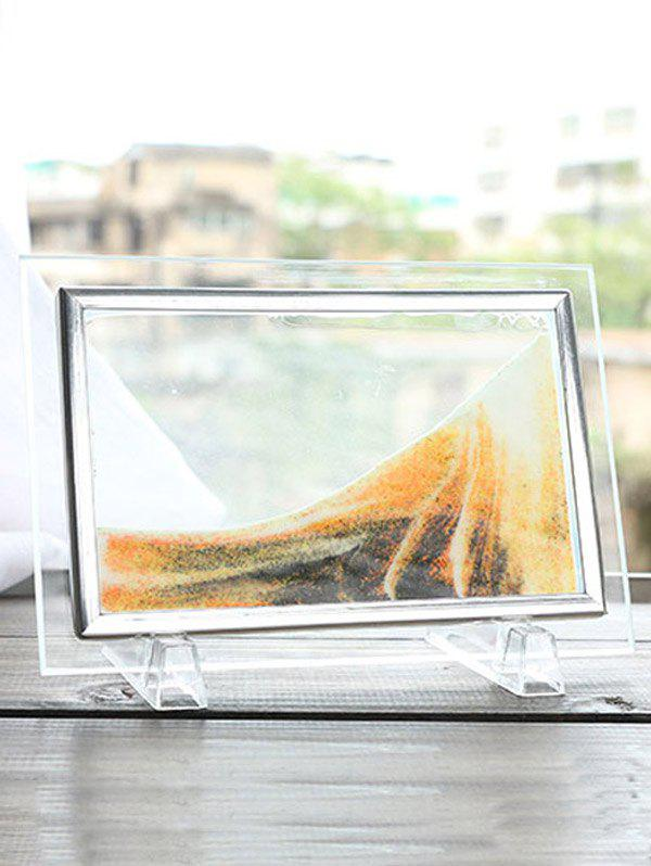 Deep Yellow 22 X17cm 3d Hourglass Sand Moving Scene Frame Picture ...