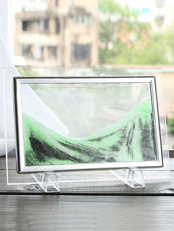 Buy 3D Hourglass Sand Moving Scene Frame Picture Ornament Craft