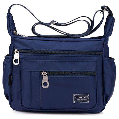 Online Leisure Zippers and Nylon Design Shoulder Bag For Women