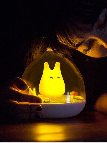 Fashion USB Rechargeable Touch Sensor LED Cartoon Birdcage Night Light - YELLOW  Mobile