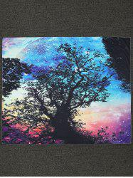 Rectangle Tree Print Beach Throw