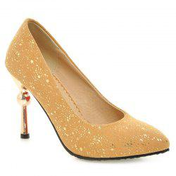 Strange Heel Pointed Toe Pumps