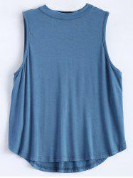 Sleeveless Cut Out T-Shirt