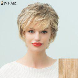 Siv Hair Short Layered Side Bang Pixie Human Hair Wig