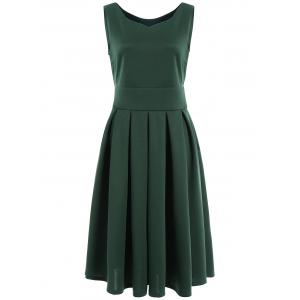 Ruched Sweetheart Neck Midi Dress