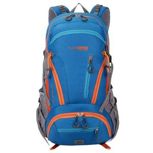 Multi Zips Nylon 45L Mountaineering Backpack -
