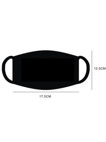 Online Outdoor Cat Eyes Anti Haze Anti Dust Health Mouth Mask - BLACK  Mobile