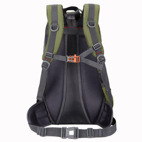 Latest Nylon Waterproof 40L Mountaineering Backpack - ARMY GREEN  Mobile
