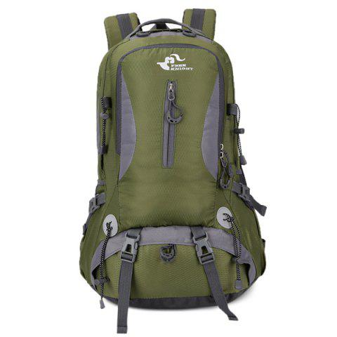 Online Nylon Waterproof 40L Mountaineering Backpack - ARMY GREEN  Mobile