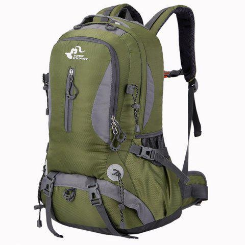 Sale Nylon Waterproof 40L Mountaineering Backpack - ARMY GREEN  Mobile