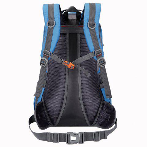Outfits Nylon Waterproof 40L Mountaineering Backpack - ROYAL BLUE  Mobile