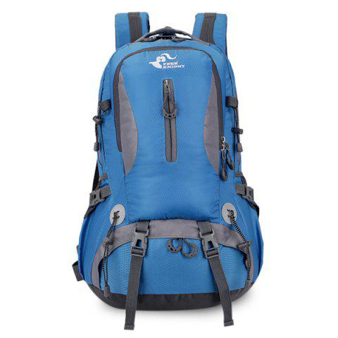 Latest Nylon Waterproof 40L Mountaineering Backpack - ROYAL BLUE  Mobile
