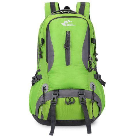 Outfits Nylon Waterproof 40L Mountaineering Backpack - CRYSTAL GREEN  Mobile