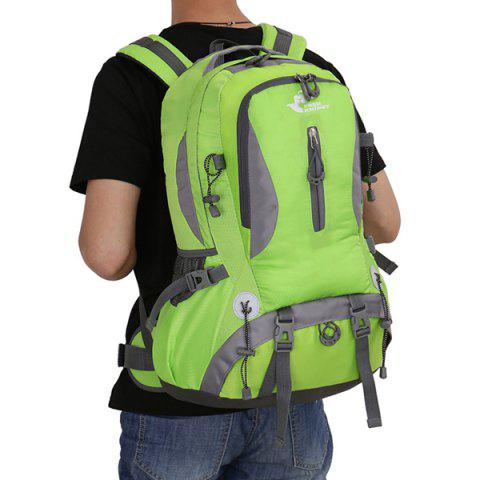 Shops Nylon Waterproof 40L Mountaineering Backpack - CRYSTAL GREEN  Mobile