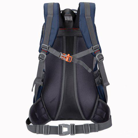 Best Nylon Waterproof 40L Mountaineering Backpack - DEEP BLUE  Mobile