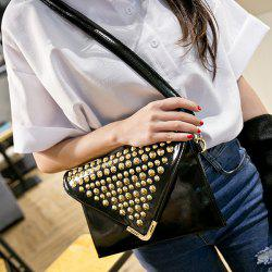 Envelope Studded Cross Body Bag
