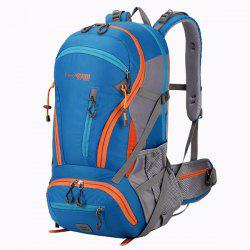 Multi Zips Nylon 45L Mountaineering Backpack