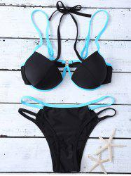 Side Strap Molded Cups Bikini