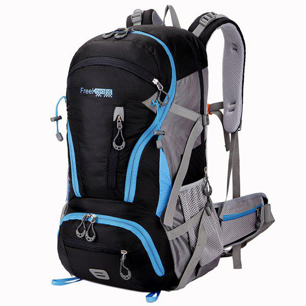 Shops Multi Zips Nylon 45L Mountaineering Backpack
