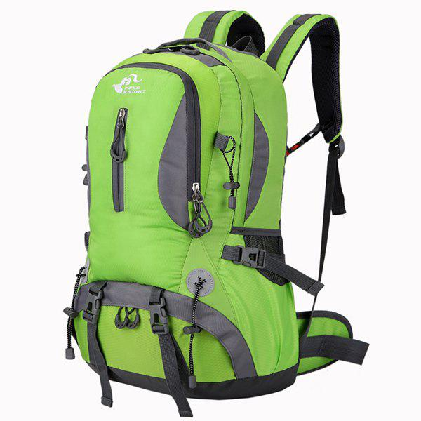 Latest Nylon Waterproof 40L Mountaineering Backpack