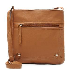 Faux Leather Sling Bag