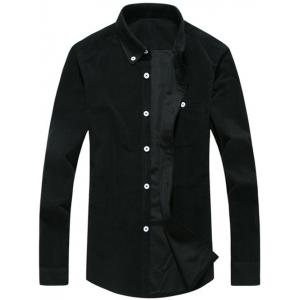 Chest Pocket Corduroy Button Down Shirt