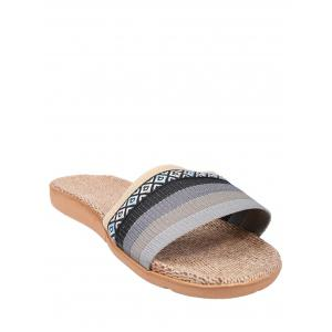 Striped Ombre House Slippers