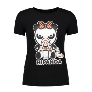 Cartoon Panda Pattern T-Shirt